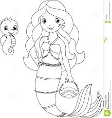 mermaid coloring pages disney book scuttle barbie