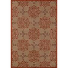 Medallion Outdoor Rug Red Medallion Outdoor Rugs Rugs The Home Depot