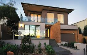 sloping house plans best slope block home designs pictures interior design ideas