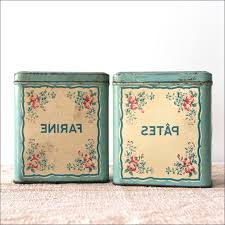 Glass Canister Sets For Kitchen by Kitchen Retro Kitchen Canisters Sugar Container For Coffee Green