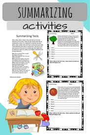 4 Quadrant Graphing Worksheets Best 25 Summarizing Worksheets Ideas On Pinterest Summary Dr
