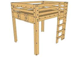 Bunk Bed With Desk For Adults Best 25 Queen Loft Beds Ideas On Pinterest Lofted Beds Loft