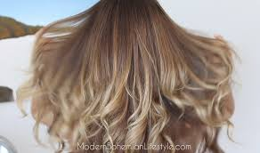 does hair look like ombre when highlights growing out modern bohemian lifestyle how i maintain ombre balayage hair at home