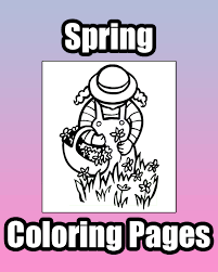 spring coloring pages primarygames play free games