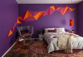 Painting Designs For Bedrooms Bedroom Wall Painting Design Glamorous Paint Design For Bedrooms