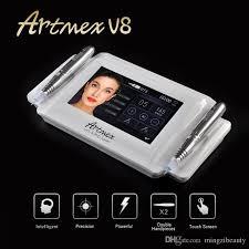 professional permanent makeup artmex v8 professional semi permanent makeup machine tattoo kits