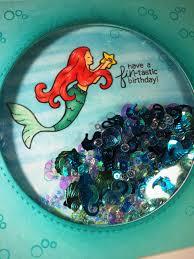little mermaid birthday card free printable invitation design