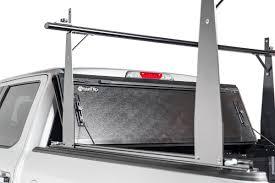 nissan titan utili track ladder rack 2007 2015 nissan titan hard folding tonneau cover rack combo