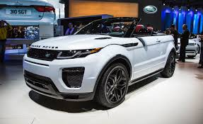 land rover voque 2017 land rover range rover evoque convertible photos and info