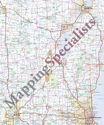 Michigan Lake Maps by Specialty Maps