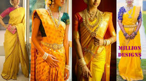 yellow color combination yellow kanchipuram sarees and blouse match color combinations