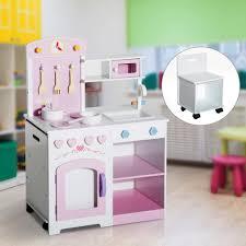 kinder spiel küche homcom kinderküche spielküche kinderspielküche real