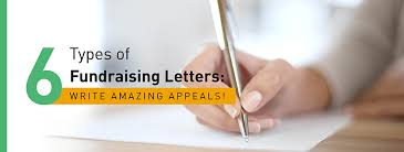 6 types of fundraising letters start writing amazing appeals