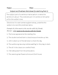 best 25 subject and predicate worksheets ideas on pinterest