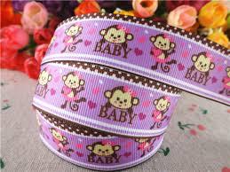 monkey ribbon popular baby monkey ribbon buy cheap baby monkey ribbon lots from