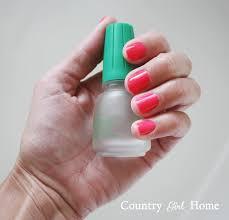 country home diy gel ish nails
