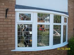 upvc double glazed bay window with frame and glass of arafen