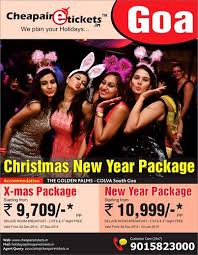cheapairetickets in announce goa and new year