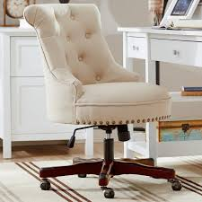 Wayfair Office Desk Feminine Office Chair Pertaining To Fabric Chairs You Ll