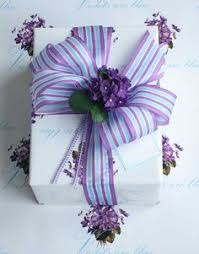 purple gift wrap positive thoughts gratitude pretty things quotes ohh