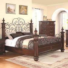 Wood And Iron Bed Frames Wrought Iron And Wood Bedroom Sets King Bed Bed Custom