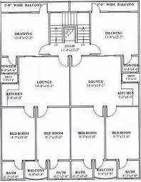 3 Storey Commercial Building Floor Plan World Housing Encyclopedia Whe