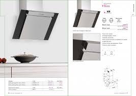 hotte aspirante verticale cuisine hotte asprirante vertical silverline électroménager cuisine