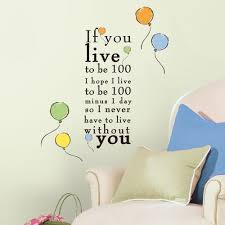 twenty new wall stickers under 20 roommates blog decorate with winnie the pooh wall quotes