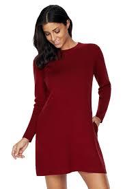 maroon sweater dress black high neck sleeve knit sweater dress mb27712 2 modeshe com