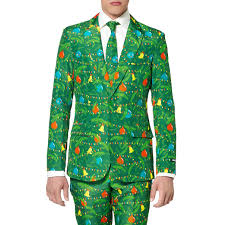 christmas suit green christmas tree tacky christmas suit by suitmeister