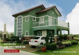 house design sles philippines bellefort estates sabine house for sale in daang hari philippines