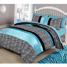 Comforter At Walmart Your Zone Zebra Bedding Comforter Set Walmart Com
