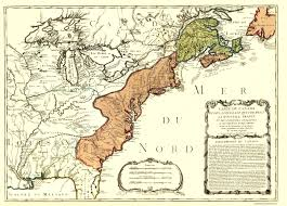 Erie Pennsylvania Map by Old War Map Canada And Louisiana 1756