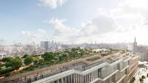 google u0027s huge new london hq is a u0027landscraper u0027 with a rooftop