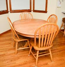 amish oak country kitchen table ebth
