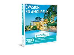 coffret smartbox table et chambre d hote coffret cadeau évasion en amoureux smartbox