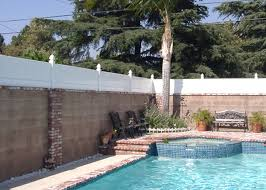 fence toppers for privacy on cinder block yahoo image search