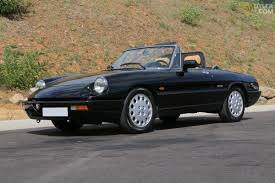 classic alfa romeo spider classic 1991 alfa romeo spider 2000 serie 4 cabriolet roadster
