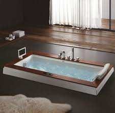 articles with whirlpool corner bath with shower screen tag