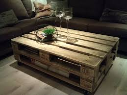 tables made from pallets best pallet furniture coffee table made with crates best pallet