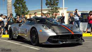 pagani huayra 2018 pagani huayra silver cf red stripe black u0026red interior us