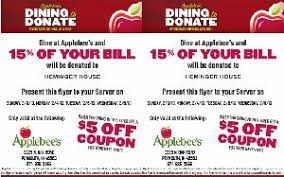 applebees coupons on phone applebee s dining to donate to help heminger house wtca fm 106 1