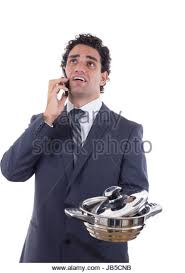 Seeking Dinner Cooking Dinner On Phone Stock Photos Cooking Dinner On