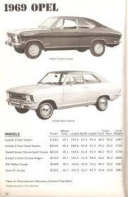 1968 opel kadett imcdb org 1969 opel kadett rallye b in
