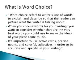 word choice 6 1 traits of writing ruth culham u0026 martha spain