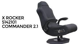 X Rocker Recliner X Rocker Commander Pedestal 2 1 Audio Video Gaming Chair Video