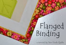 sew fresh quilts flanged binding tutorial