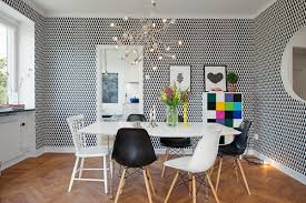 wallpaper for dining room in 16 cool and fancy ideas nove home
