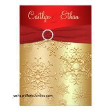 wedding invitation new christmas themed wedding invitations
