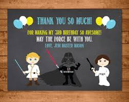 wars thank you cards wars thank you etsy